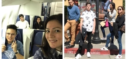 LOOK: Carmina Villarroel, Zoren Legaspi together with their twins in their #familygoals photos on their trip to U.S