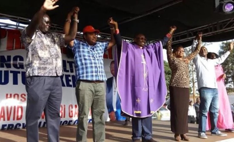 Rich 'Jubilee bishop' speaks after being accused of BIG theft