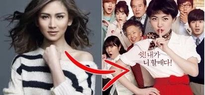 """A """"Kapamilya"""" princess as Shim Eun-kyung in the Filipino adaptation of the South Korean movie """"Miss Granny"""""""