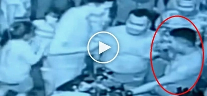 Drunken Pinoy cop fires his gun multiple times while partying in Tondo on New Year's Eve