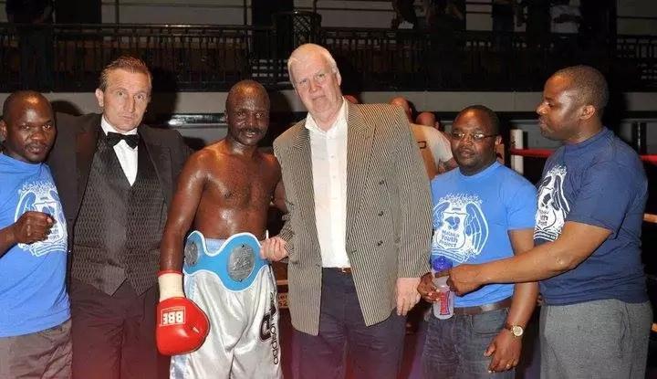 Exclusive with Kenyan boxer
