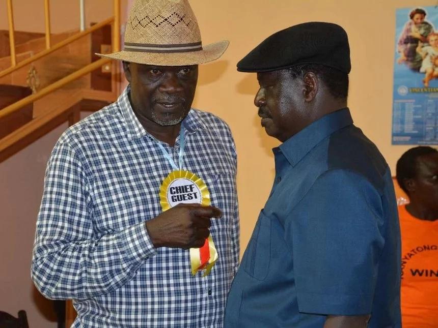 Gavana wa ODM apigiwa kelele mbele ya Raila Odinga