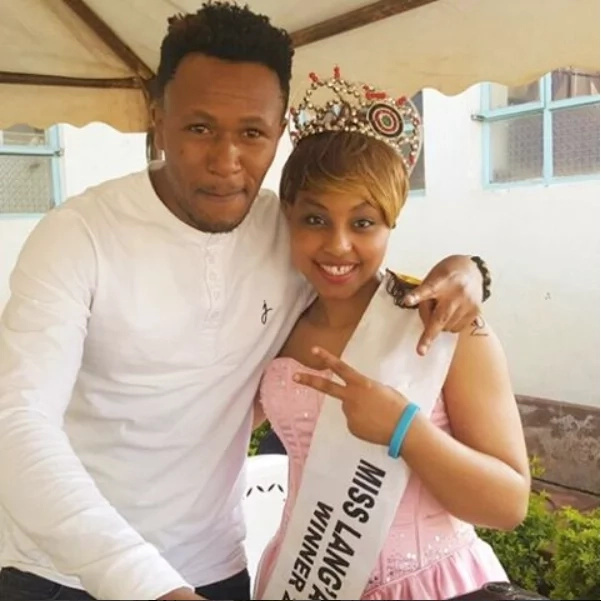 Size 8's husband forced to defend himself after Kenyans say he's supporting gangsters and killers
