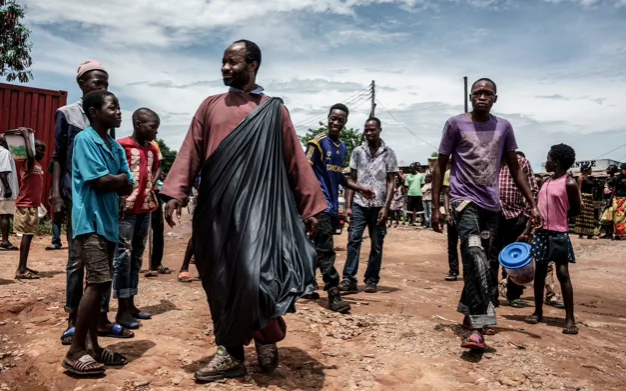Jesus of Kitwe. Photo: Telegraph/Jonas Bendiksen