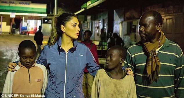Nicole Scherzinger speaks charity work in Kenya
