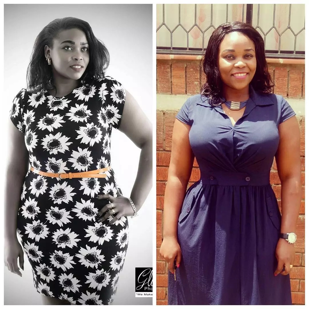 Nzula Makosi: Abadilika baada ya kupoteza unene katika siku 42