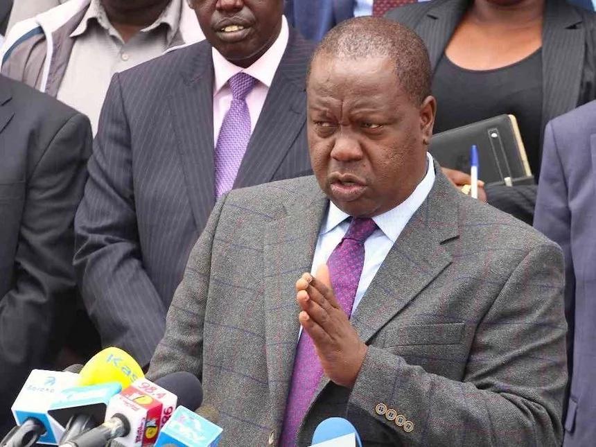 Throw tantrums all you want, no principal will be recalled, CS Matiang'i warns