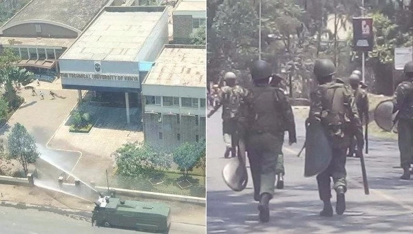 University of Nairobi closed as anger rises over police brutality