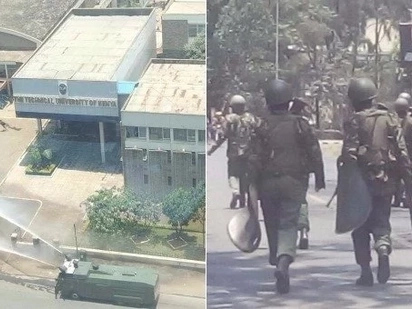 7 University of Nairobi students hospitalised, one feared dead from police brutality