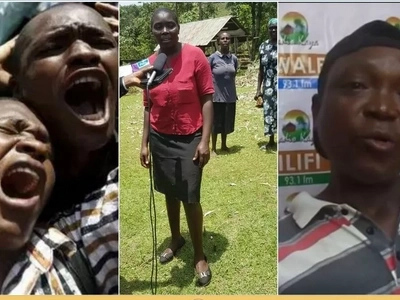 Bungoma lady sparks wild online frenzy as Kenyan men 'give' themselves to her