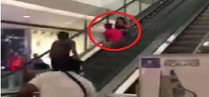 Hair-raising situation of a boy causes shoppers to panic with his mother in SM San Lazaro