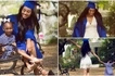 Teenager gave birth to daughter at 13, celebrates graduating from high school one year early (photos)