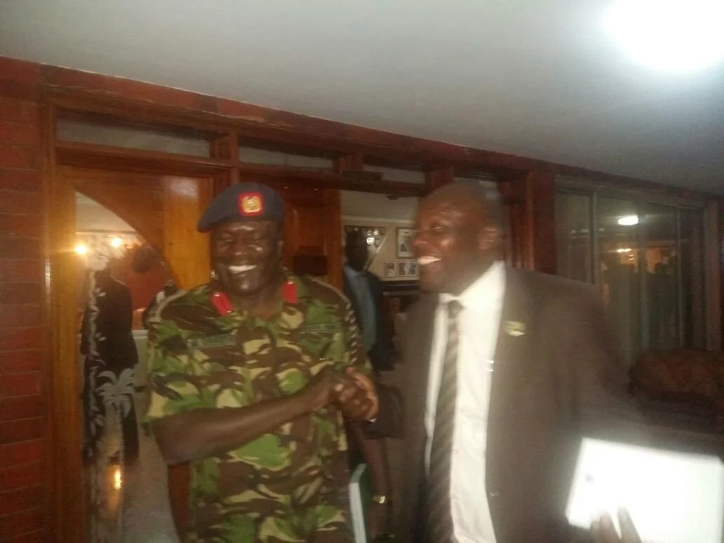 KDF parades the 'missing' spokesperson on live TV