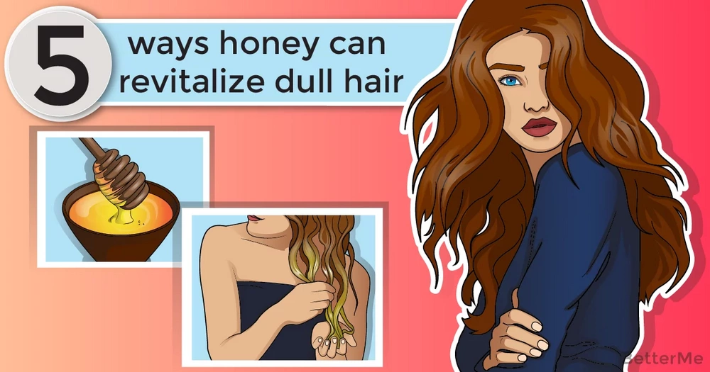 5 ways honey can revitalize dull hair