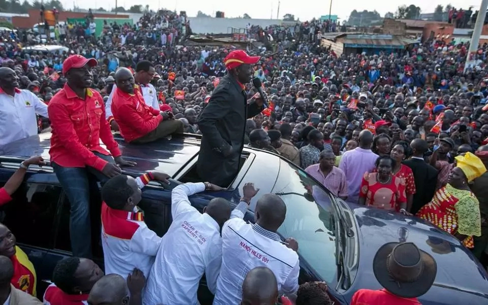 'Chaos' in NASA after DP Ruto claimed Raila will open ICC cases if he wins