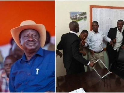 Chaos in Muranga county Assembly blamed on Raila