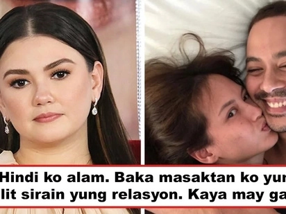 Kung sino ka man wag ka nang magpakita! Is Angelica Panganiban alluding to Ellen Adarna when asked what she'll do if she sees new GF of ex-BF?