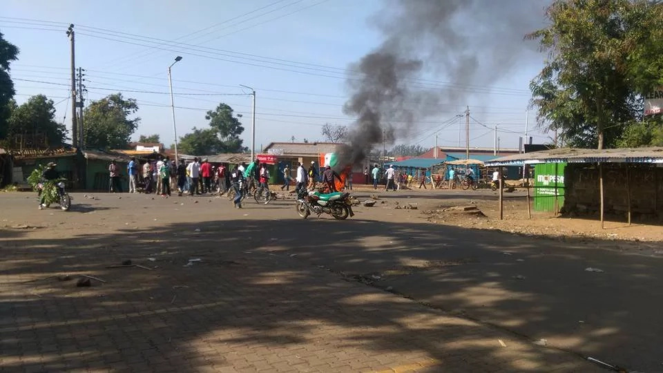 Anti-IEBC protests rock parts of Kenya