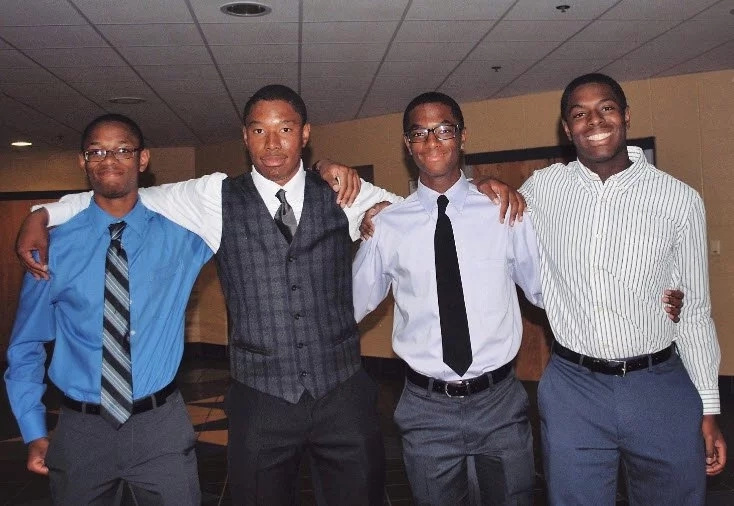 Brainy brothers! Quadruplets get accepted at Ivy League universities (photos)