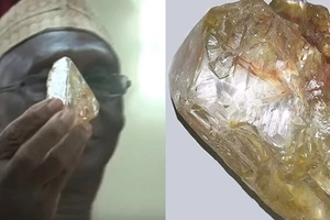 Pastor from Sierra Leone find MASSIVE 706-carat diamond (photos)