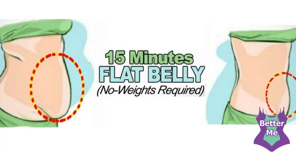 A 15 Minutes Flat Belly Workout (No-Weights Required)