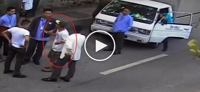 Daring Pinoy thief caught in the act stealing wallet from parked van in Pasig City