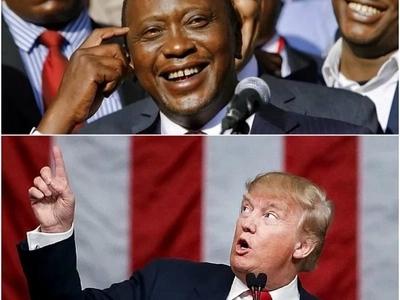 Baada ya Rais Uhuru Kenyatta kutoa OMBI hili, Donald Trump amjibu na Uhuru amefurahi