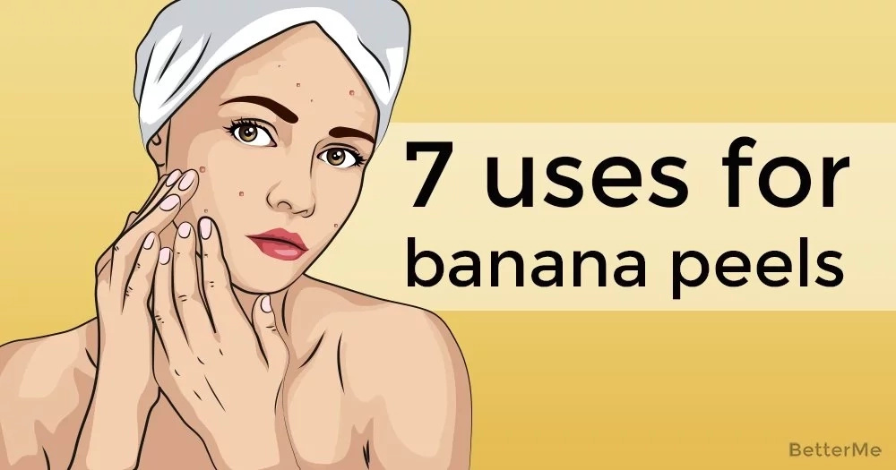 7 uses for banana peels