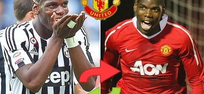 What Paul Pogba said after signing for Manchester United for over 100M pounds