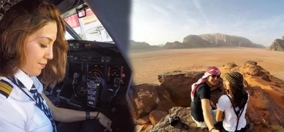 This woman pilot amazes netizens with her incredible flying skills! She has flown a Boeing 737 to Europe and she's just 31!