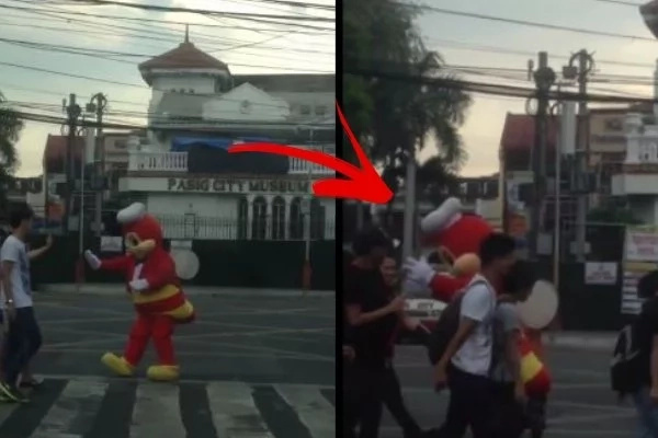 LOOK: Jollibee's Part-time Job Is Traffic Enforce