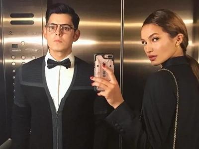 Gandang lahi talaga! Sarah Lahbati and Richard Gutierrez look gorgeous with their matching black tie ensembles