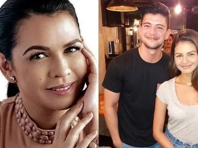 What does Lotlot de Leon have to say about daughter Janine Gutierrez's rumored romance with Rayver Cruz?