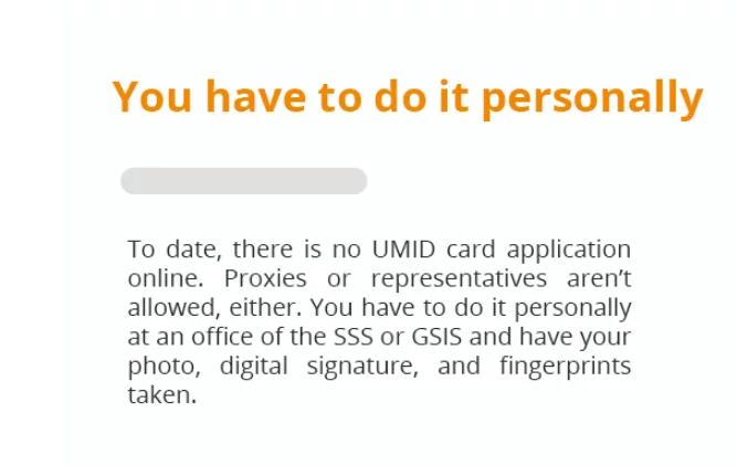 Ano nga ba ang mga dapat malaman? Important things you need to know for UMID Card Application