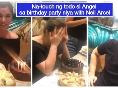 Sobrang sweet! Angel Locsin, naging emosyonal sa birthday party sa fancy restaurant kasama si Neil Arce