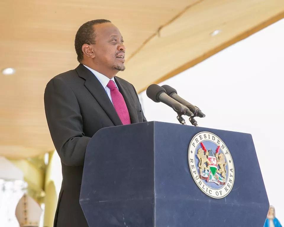 Huku viongozi wa NASA wakikita kambi katika ngome ya William Ruto, Uhuru Kenyatta alikuwa hapa