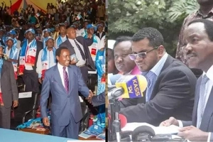 Governor says he will abandon Kalonzo Musyoka a week after joining him