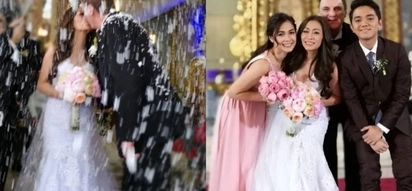Maja Salvador's mother gets a grand wedding filled with celebrities