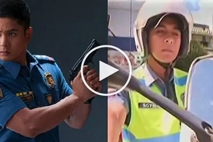 Hardworking Baguio policeman goes viral for looking like Coco Martin's Cardo in 'Ang Probinsyano'