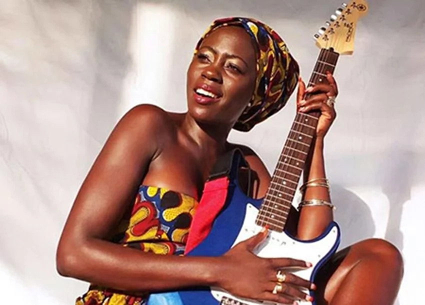 Rich Kenyan songstress explains why she prefers feeding dogs over her friends