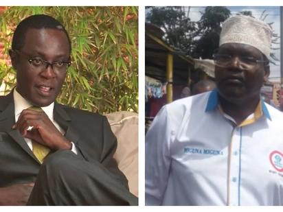 Miguna amuita Mutahi Ngunyi 'mkora aliyehitimu' baada ya Mutahi kumuita 'binti wa sarakasi'