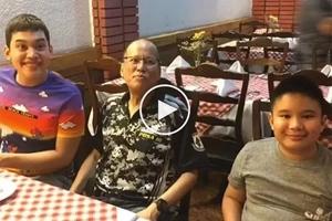 Na-demote si kuya! Former Pres. Aquino is Josh and Bimby's new 'nanny?'