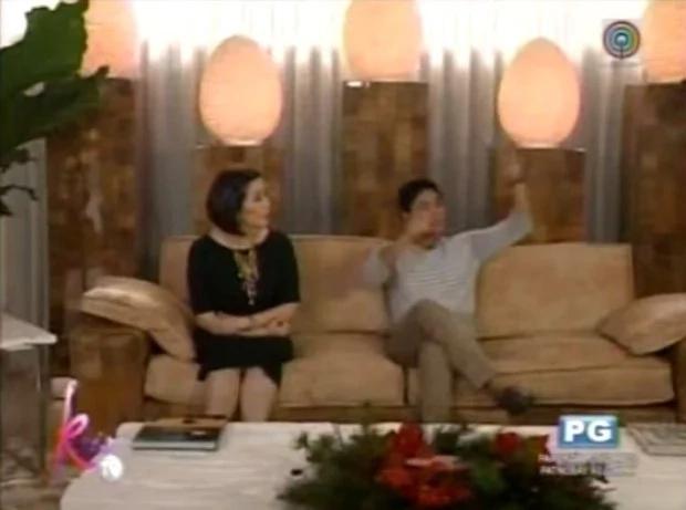 Kris Aquino tours home of Coco Martin