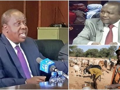 Matiang'i na Kamket 'wakosana' kuhusu mifugo 600 waliouawa Baringo