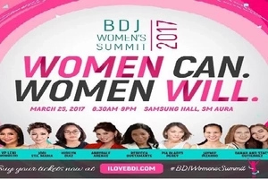 Join this year's BDJ Women's Summit and make a difference