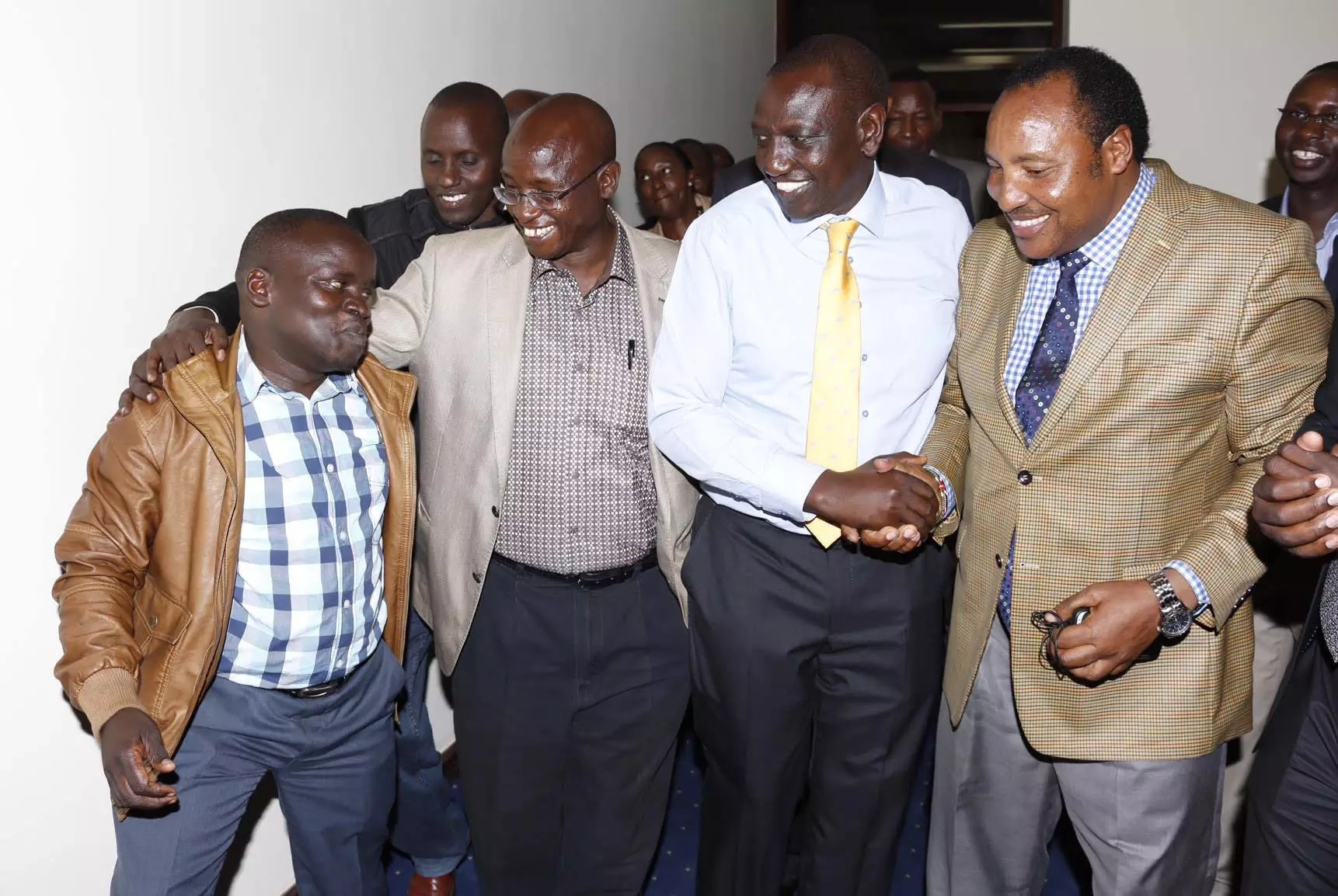 Celebration at Ruto's residence in Karen over ICC triumph