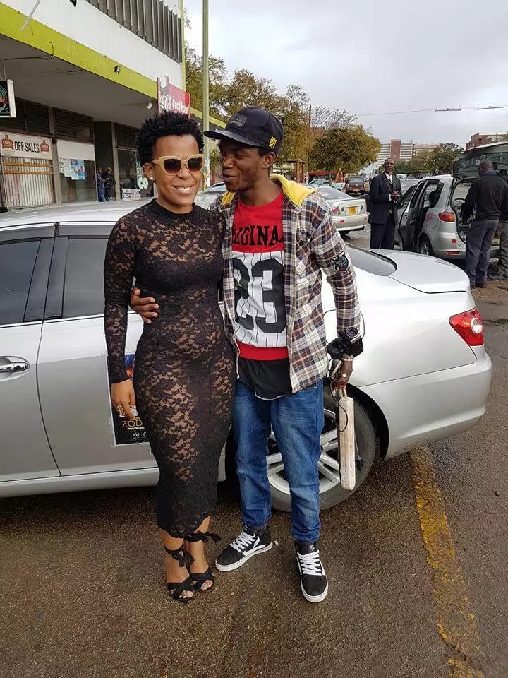 Zodwa Wabantu says she wants to meet Robert Mugabe, admits she's aware the president is strict