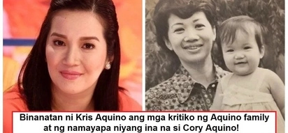 """Kris Aquino responds to critics of her late mother Cory Aquino: """"I know our family is not perfect"""""""