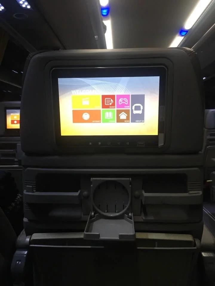 Para kang nasa eroplano! Genesis Transport newest line of buses has Airplane-style of entertainment on board