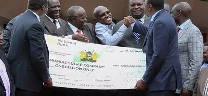 Boni Khalwale's Moment Of Sweetness As Mumias Gets KSh 1 Billion